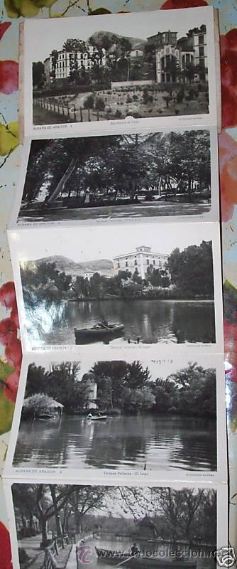 Postales: 10 POSTALES RECUERDO DE ALHAMA DE ARAGON ZARAGOZA, POSTAL - Foto 4 - 27548985