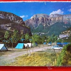 Postales: CAMPING DE ORDESA - TORLA - HUESCA. Lote 14230727