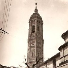 Postales: POSTAL CALATAYUD Nº 7 IGLESIA Y TORRE DE S. ANDRES ED. SICILIA . Lote 14283209
