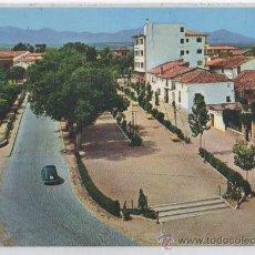 Postales: TARJETA POSTAL DE CARIÑENA PASEO RIVO IZQUIERDO ZARAGOZA SEAT 600. Lote 121101720