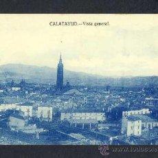 Postales: POSTAL DE CALATAYUD (ZARAGOZA): VISTA GENERAL (FOTO LLANAS). Lote 14550761
