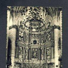 Postales: POSTAL DE BARBASTRO (HUESCA): CATEDRAL, ALTAR MAYOR (ED.SICILIA NUM.22). Lote 14558337