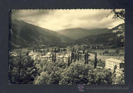 POSTAL DE CASTEJON DE SOS (HUESCA): VISTA DEL VALLE (ED.SICILIA NUM.1) (Postales - España - Aragón Antigua (hasta 1939))