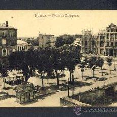 Postais: POSTAL DE HUESCA: PLAZA DE ZARAGOZA (ED.CARDIEL). Lote 14558994