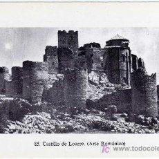 Postales: MAGNIFICA POSTAL DE ARAGON - CASTILLO DE LOARRE (ARTE ROMANICO). Lote 22093638