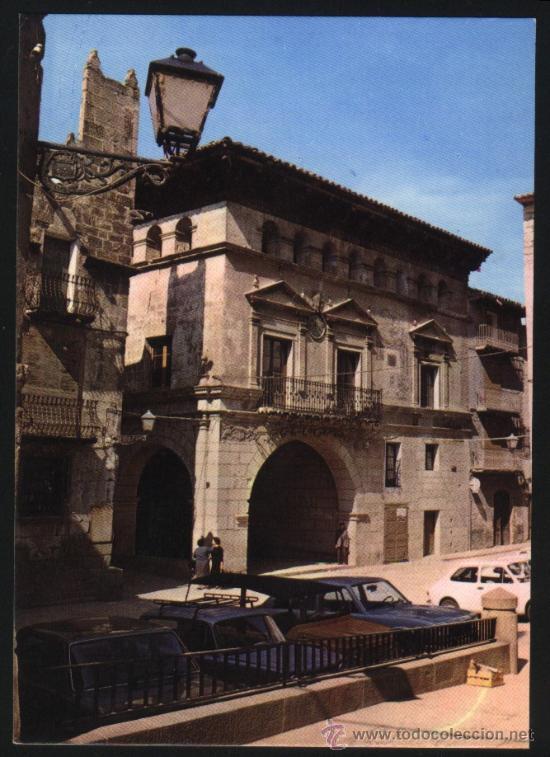 S-1317- TERUEL. VALDERROBRES. AYUNTAMIENTO SIGLO XVI (Postales - España - Aragón Moderna (desde 1.940))