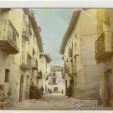 Postcards - (PS-12802)POSTAL FOTOGRAFICA DE LA CODOÑERA(TERUEL)-CALLE MAYOR - 14813735