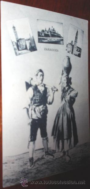 POSTAL ZARAGOZA ROIG (Postales - España - Aragón Antigua (hasta 1939))