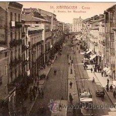 Postales: POSTAL ZARAGOZA COSO. Lote 15466015