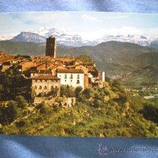 Postales: POSTAL HUESCA AINSA CON MONTE PERDIDO AL FONDO NO CIRCULADA. Lote 15604093
