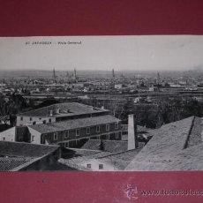 Postales: 37 ZARAGOZA-VISTA GENERAL-COLECCION M.A. POSTAL CIRCULADA-14X9 CM.. Lote 15606357