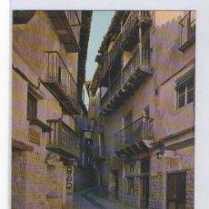 Postales: TARJETA POSTAL DE ALBARRACIN TIPICA CALLE DEL PORTAL DE MOLINA MONUMENTO NACIONAL TERUEL. Lote 15709720