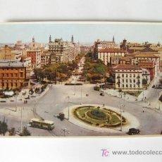 Postales: POSTAL DE LA PLAZA PARAISO DE ZARAGOZA SIN FUENTE.. Lote 23354423