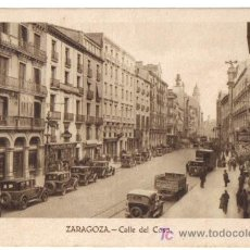 Postales: ZARAGOZA, CALLE DEL COSO. Lote 25505835