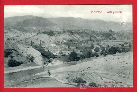 JANOVAS , HUESCA , VISTA GENERAL , ED LARROSA ,BOLTAÑA , P32.569 (Postales - España - Aragón Antigua (hasta 1939))