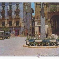 Postales: TARJETA POSTAL DE FRAGA PLAZA SAN PEDRO HUESCA . Lote 26528808