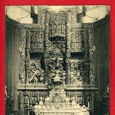 Postales: HUESCA, RETABLO DEL ALTAR MAYOR DE LA CATEDRAL, P32970. Lote 16196487