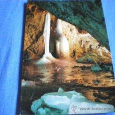Postales: POSTAL HUESCA ORDESA GRUTA HELADA DE CASTERET NO CIRCULADA. Lote 16262909