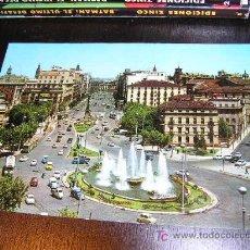 Postales: ZARAGOZA PLAZA PARAISO Y PLZ INDEPENDENCIA Nº 1013 SERIE 82. Lote 20189606