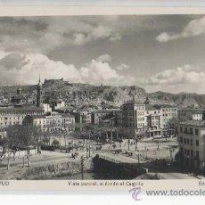 Postales: TARJETA POSTAL DE CALATAYUD VISTA PARCIAL AL FONDO EL CASTILLO ZARAGOZA. Lote 18761914
