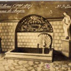 Postales: BONITA POSTAL - ALHAMA DE ARAGON - TERMAS PALLARES - BAÑOS DEL REY. Lote 18563946
