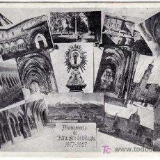 Postales: MAGNIFICA POSTAL - MONASTERIO DE NTRA. SRA. DE VERUELA - 1877-1927 - BORJA - ZARAGOZA. Lote 18790670
