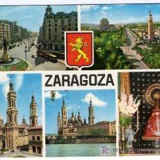 Postales: BONITA POSTAL - ZARAGOZA - VARIAS VISTAS DE LA CIUDAD. Lote 16854958