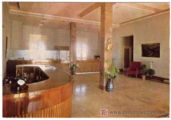 BONITA POSTAL - CALATAYUD (ZARAGOZA) - HOTEL ROGELIO (Postales - España - Aragón Moderna (desde 1.940))