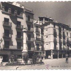 Postales - TERUEL.-PLAZA DE CARLOS CASTEL(TORICO) - 16915839