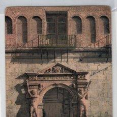 Postales: TARJETA POSTAL DE ZARAGOZA. PORTADA DE LA AUDIENCIA. PURGER & CO. PHOTOCHROMIEKARTE 3208. Lote 16936562