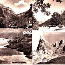 Postales: PS2433 ORDESA 'CASAS DE VIU - TOZAL MALLO - GRADAS DE SOASO - CIRCO DE SALARONS'. ED. SICILIA. Lote 17091407