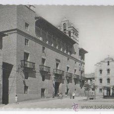 Postales: TARJETA POSTAL AYUNTAMIENTO HUESCA. Lote 17353643