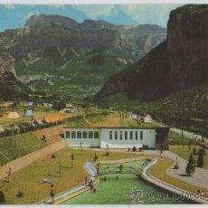 Postales: TARJETA POSTAL DE TORLA CAMPING DE ORDESA HUESCA. Lote 17355434