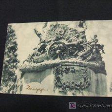 Postales: POSTAL ANTIGUA -MONUMENTO A LOS SITIOS - ZARAGOZA - . Lote 17376185