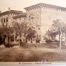 Postales: ZARAGOZA. Nº 58. PALACIO DE MUSEOS.. Lote 17438735