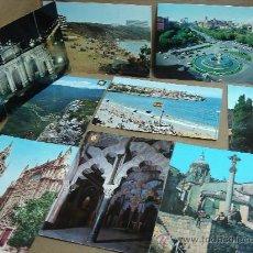Postales: COLECCION 20 POSTALES - ESPAÑA - MADRID,GIJON,TERUEL,BURGOS,MENORCA ETC ... AÑOS 60S 70S POSTAL. Lote 24698711