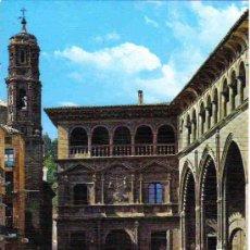 Postales: ALCAÑIZ - 1 PALACIO MUNICIPAL Y LONJA. Lote 17528306