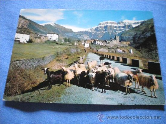 POSTAL HUESCA TORLA VISTA PARCIAL AL FONDO MONDARRUEGO NO CIRCULADA (Postales - España - Aragón Moderna (desde 1.940))