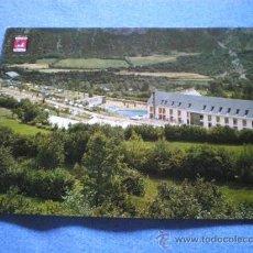 Postales: POSTAL HUESCA TORLA HOTEL ORDESA CAMPING VISTA PARCIAL DE TODO EL COMPLEJO NO CIRCULADA. Lote 17560553