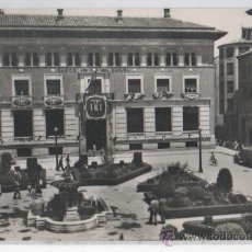 Postales: TARJETA POSTAL PLAZA DEL GENERAL VARELA BANCO DE ESPAÑA TERUEL. Lote 17640310