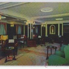 Postales: TARJETA POSTAL HOTEL CENTENARIO SALON ZARAGOZA. Lote 27497108