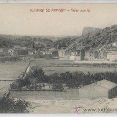 Postales: TARJETA POSTAL DE ALHAMA DE ARAGON VISTA PARCIAL ZARAGOZA. Lote 17793553