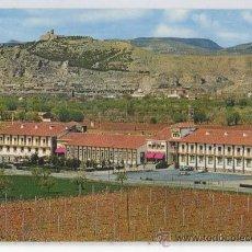 Postales: TARJETA POSTAL DE CALATAYUD HOTEL ROGELIO ZARAGOZA. Lote 25684104