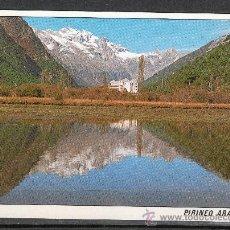 Postales: BIELSA. VALLE DE PINETA. PARADOR NACIONAL MONTE PERDIDO. Lote 18050929
