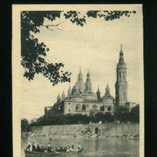 Postales: ZARAGOZA - ORILLAS DEL EBRO - EDICIONES M. ARRIBAS ZARAGOZA. Lote 18148031