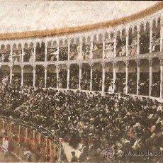 Postales: PLAZA DE TOROS DE CALATAYUD.ZARAGOZA CIRCULADA 12-4-1911. Lote 21523908