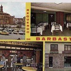 Postales: HUESCA. BARBASTRO. RESTAURANTE MATILDE. SIN CIRCULAR. Lote 18692563