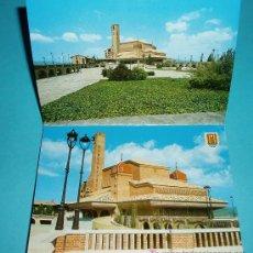 Postales: ALBUM CON 10 POSTALES DE TORRECIUDAD. HUESCA. Lote 21584522