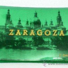 Postales: 10 MINI POSTALES ZARAGOZA EDICIONES DARVI AÑOS 50 FORMA CUADERNILLO 7 CM X 4 CM PLAZA TOROS PARAISO. Lote 18739150