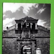 Postales: UNA POSTAL DE JACA ENTRADA Y PUERTA CIUTADELA Nº 9 EDICION SICILIA SIN CIRCULAR. Lote 18856740